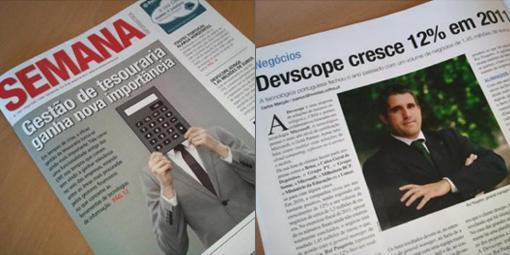 DevScope grows 12% in 2011