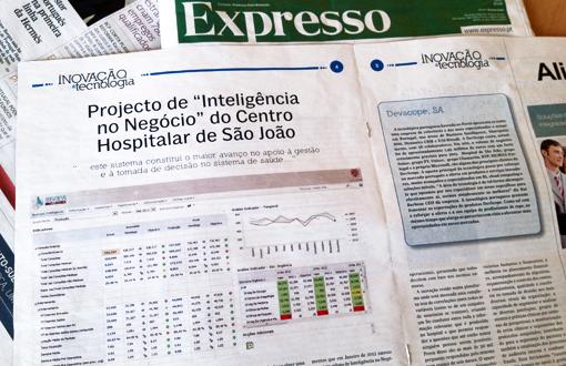Projeto de Inteligência no Negócio do Centro Hospitalar de São João