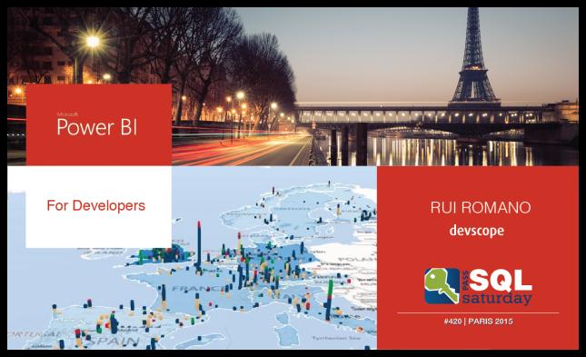SQL Saturday Paris - Rui Romano