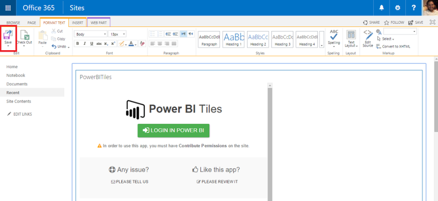 Step3-Power BI-Tiles-for-SharePoint-screen