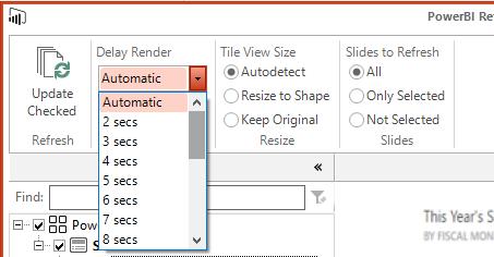 Power-BI-Tiles-Pro-Desktop-Refresh-Automaticaly