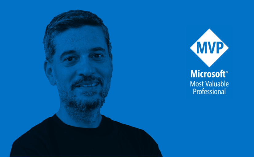 Congratulations to Pedro Sousa, the newest Microsoft AzureMVP!