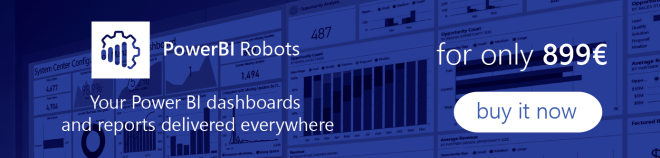 Send Emails, PDFs or broadcast from Power BI with PowerBI Robots