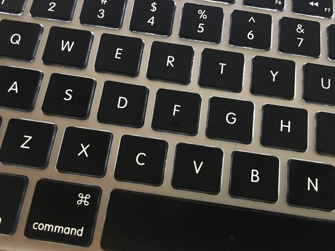 QWERTY bad password