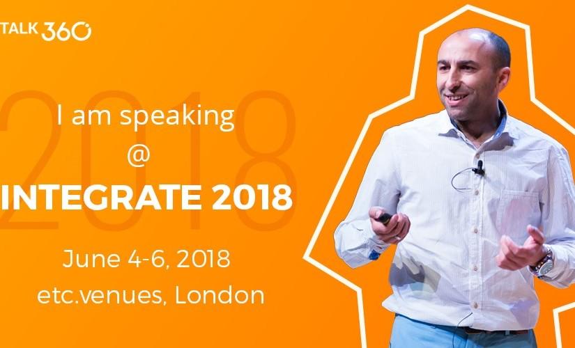 Sandro Pereira is back in London for Biztalk 360's Integrate2018