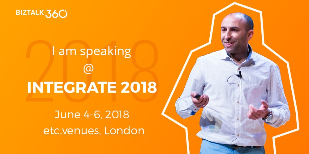 Sandro Pereira BizTalk 360 Integrate London 2018