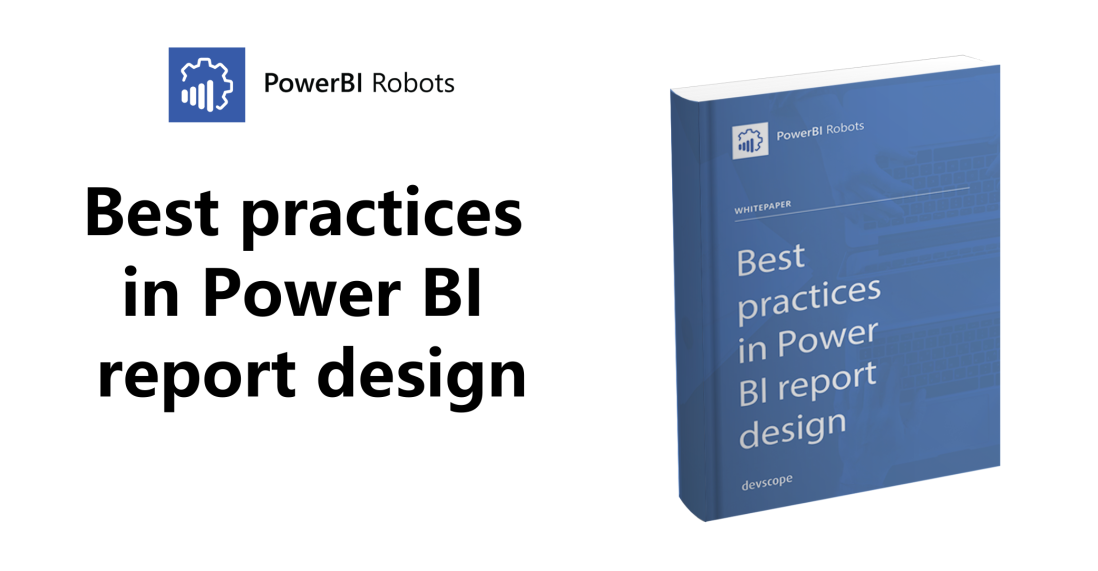 Best practices in Power BI report design – get the ebook now!