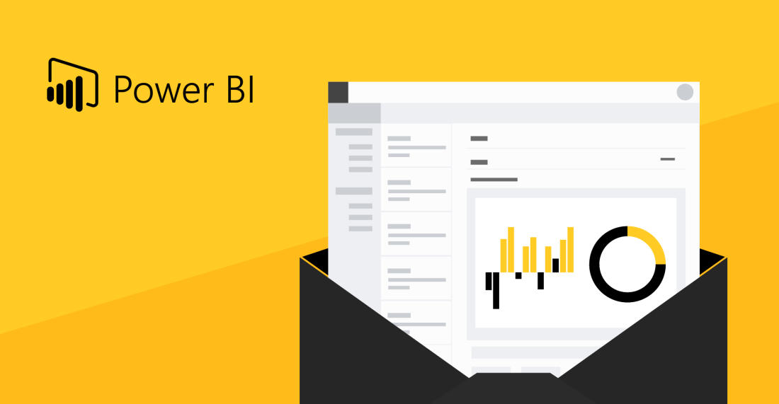 How to send Power BI reports via Outlook