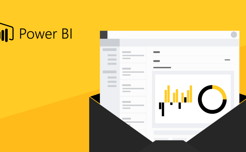 How to send Power BI reports via email using Outlook