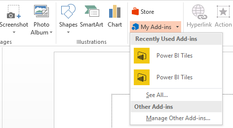 Embed Power BI reports in PowerPoint