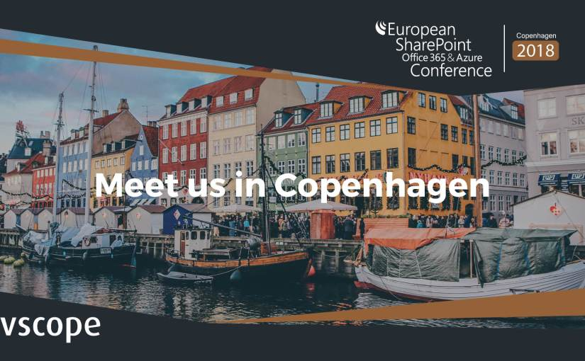 Meet us at the European SharePoint, Office 365 & Azure Conference 2018