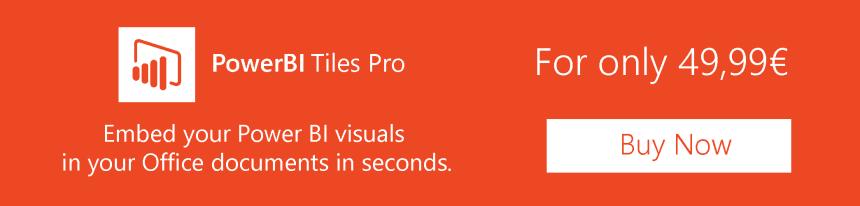 PowerBI Tiles Pro