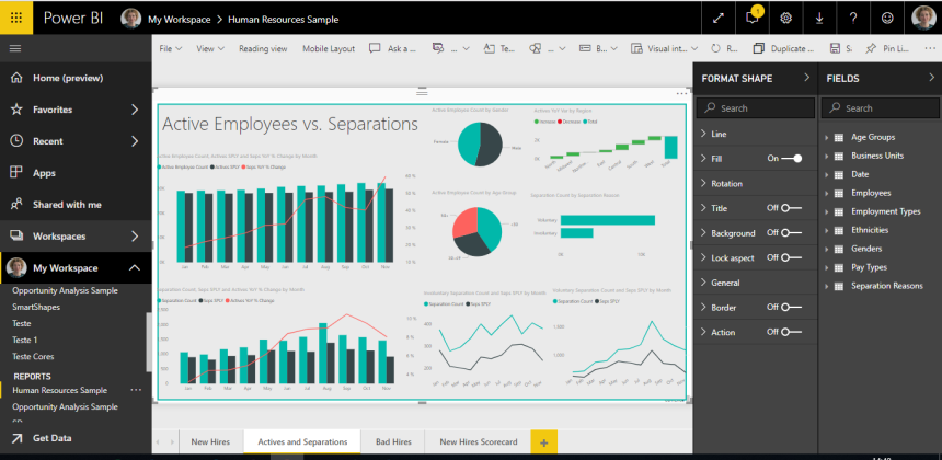 Power BI issue 1