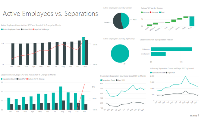 Power BI report