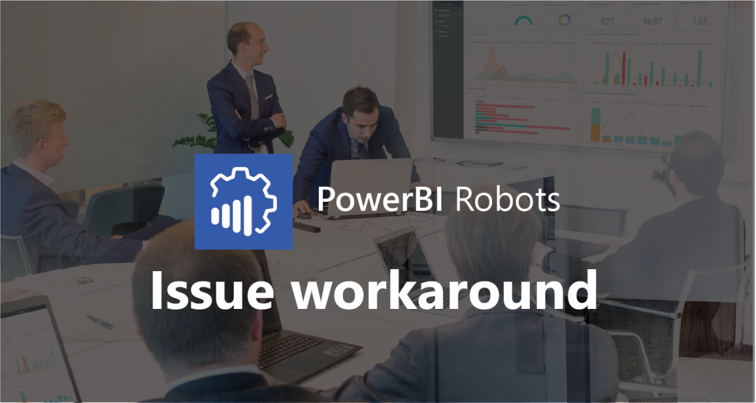 Power BI issue workaround