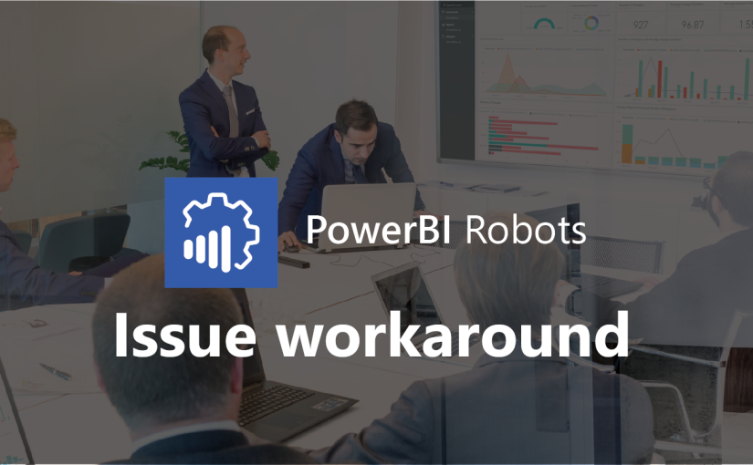 Workaround for PowerBI Robots and Power BI's printing issue