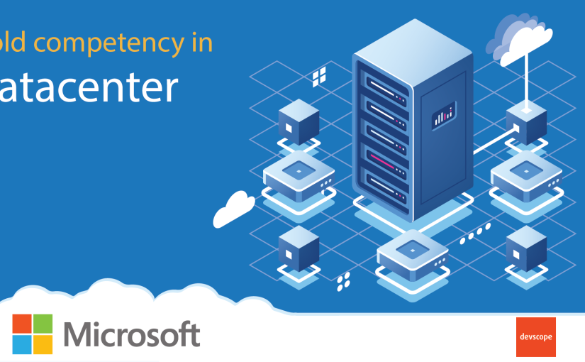 We have achieved the Microsoft Gold Datacenter competency!